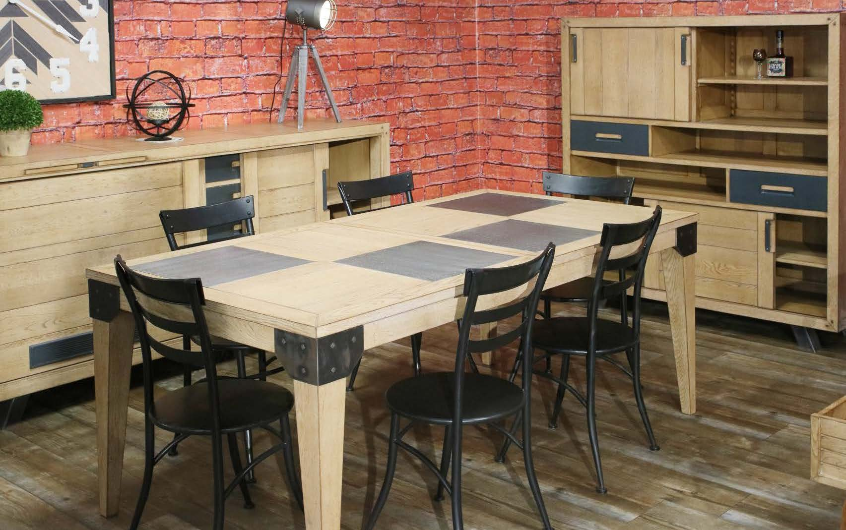 Tables spacieuses